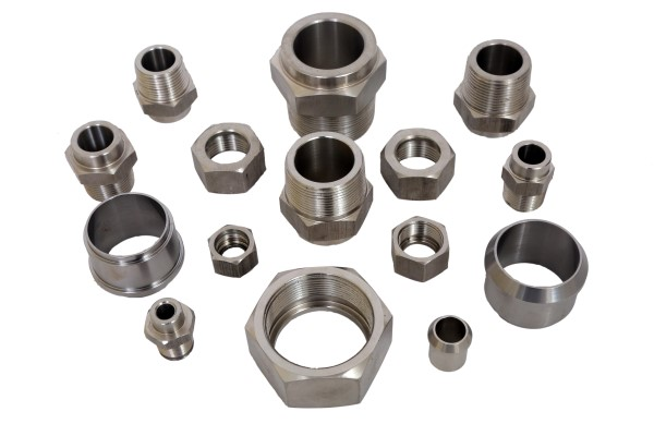 2. STAINLESS STEEL FITTINGS (Custom)